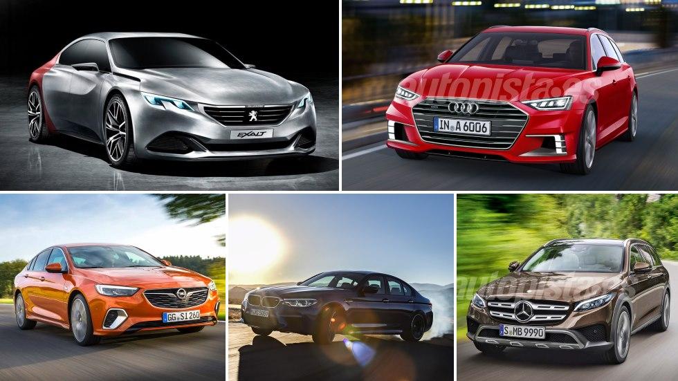 Todas las nuevas berlinas y coches familiares de 2018: 508, Serie 3, Clase C, Tesla…