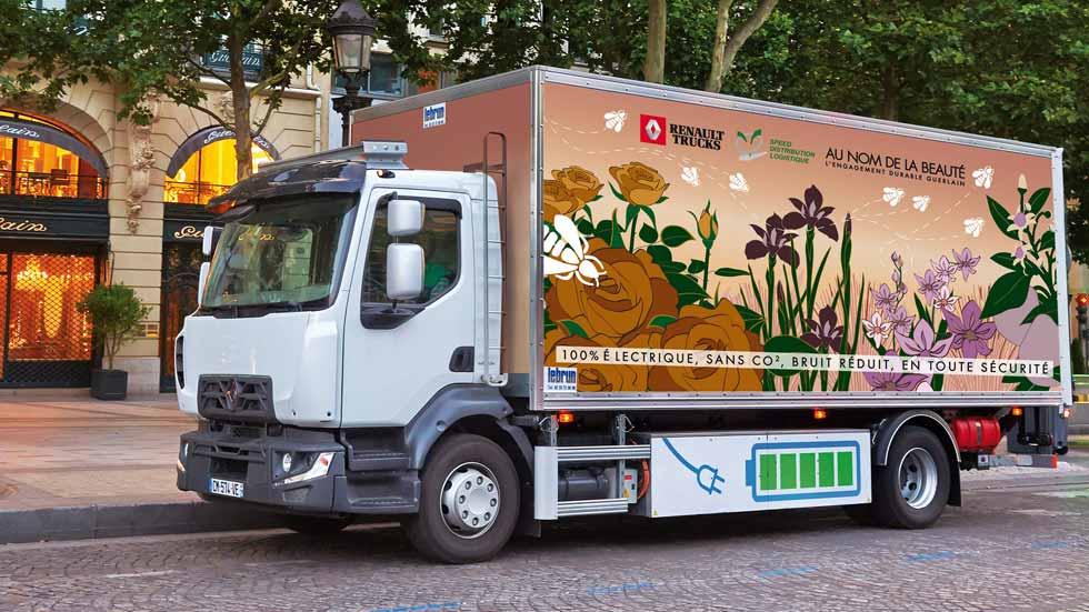 Renault Trucks comercializará camiones eléctricos en 2019