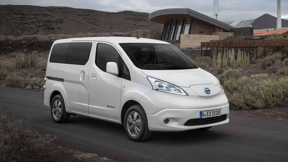 A prueba la Nissan e-NV200 2018: la furgoneta eléctrica con baterías del Leaf