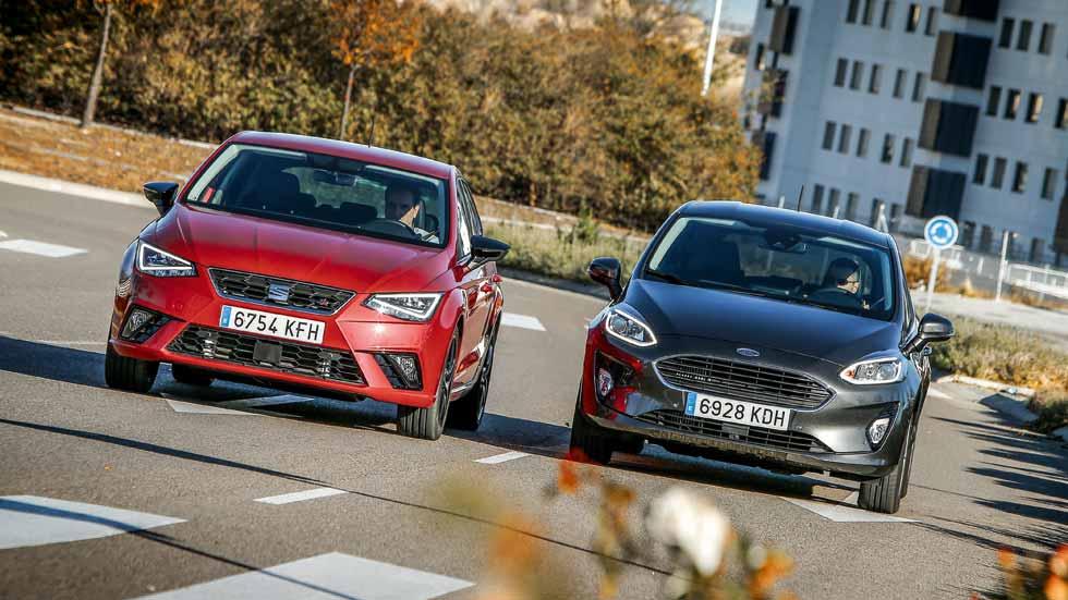 Seat Ibiza 1.6 TDI vs Ford Fiesta 1.5 TDCi: probamos sus motores Diesel