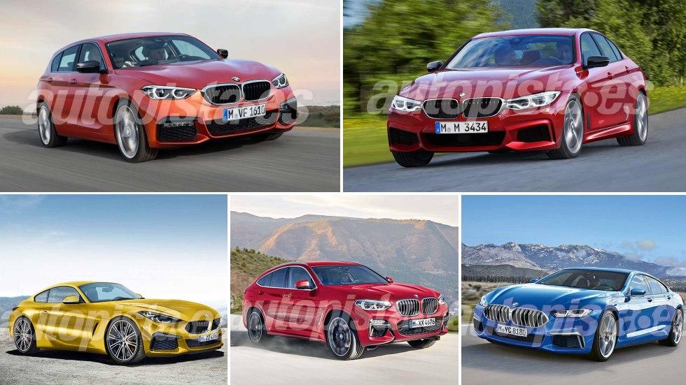 Los 20 nuevos coches y SUV de BMW hasta 2020: ¡seguirá siendo BMW!
