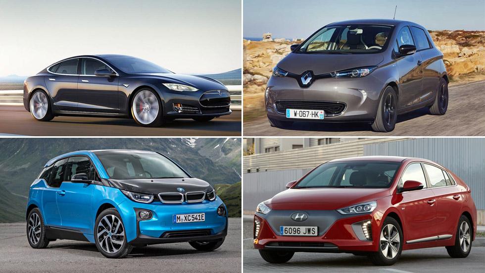 Los 10 coches eléctricos de serie con mayor autonomía de kilómetros en 2018