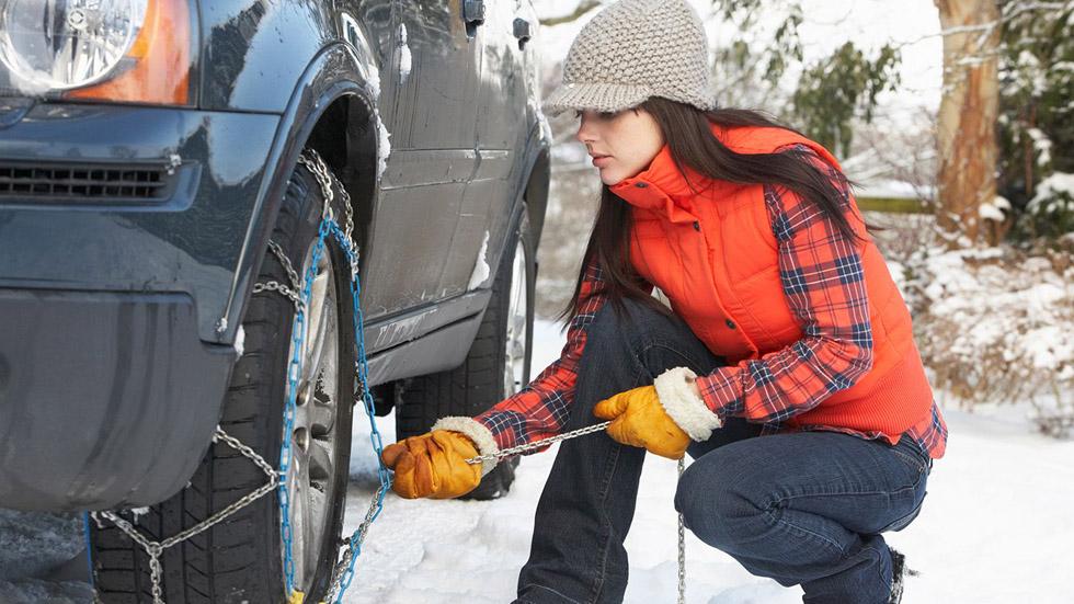 Cadenas de nieve: los 7 errores más comunes al colocarlas