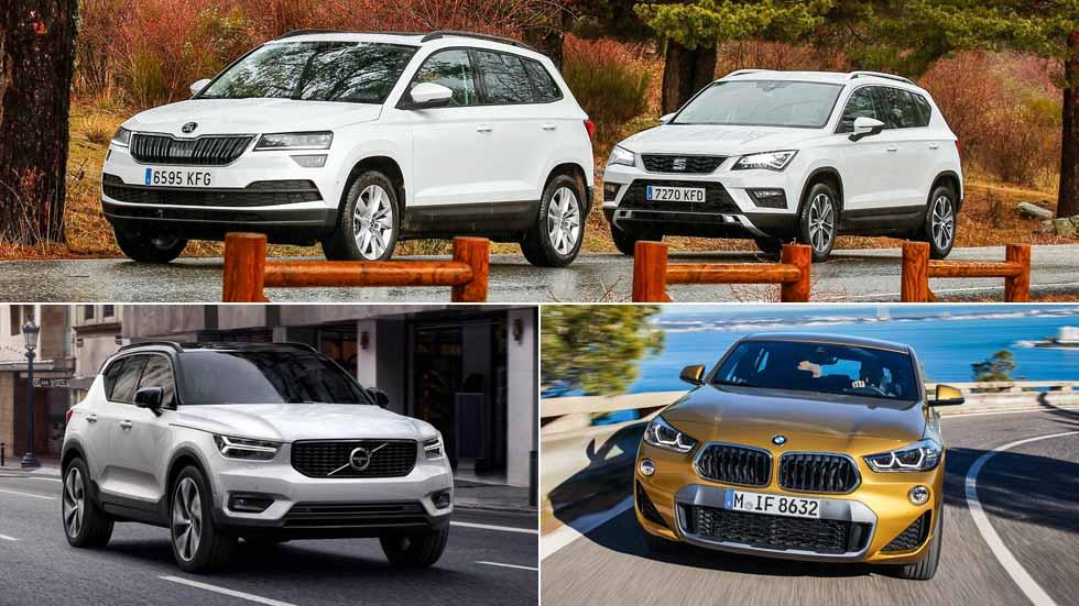 Revista Autopista 3041: a examen los Seat Ateca, Skoda Karoq, BMW X2, Volvo XC40…