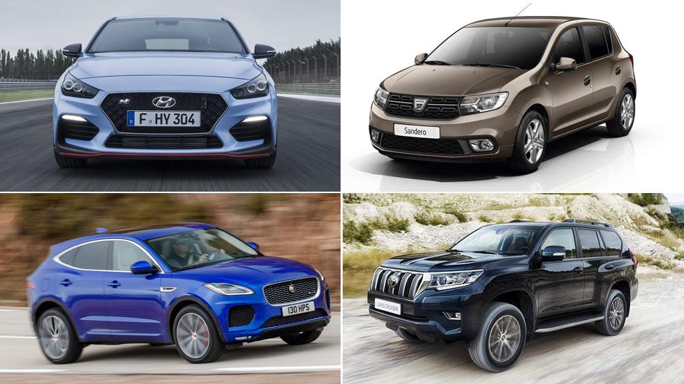 Las marcas y los coches más valorados del mes de enero