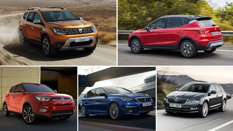 Los coches y los SUV más baratos en sus categorías… y nuestros recomendados