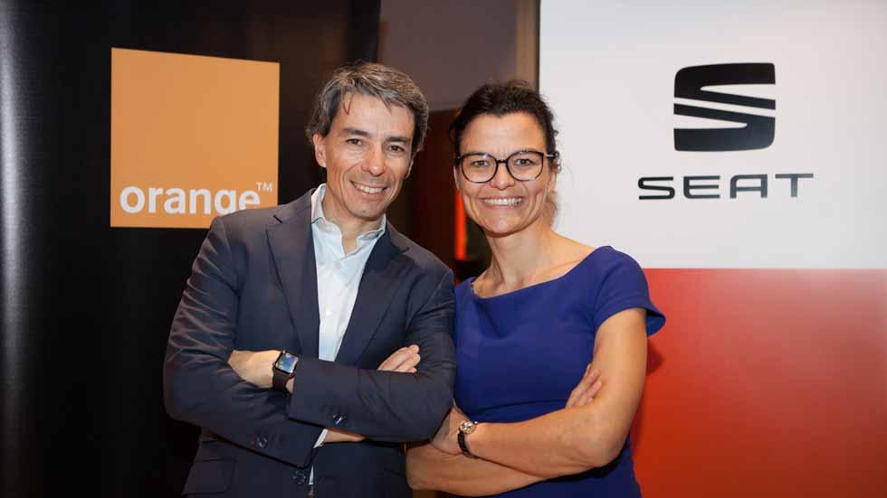 Orange se une a Google y Amazon para digitalizar los coches de Seat