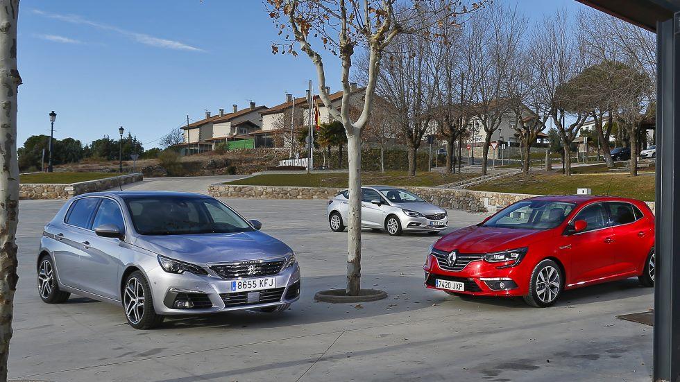 Superventas: Opel Astra CDTi vs Peugeot 308 BlueHDi vs Renault Mégane dCi