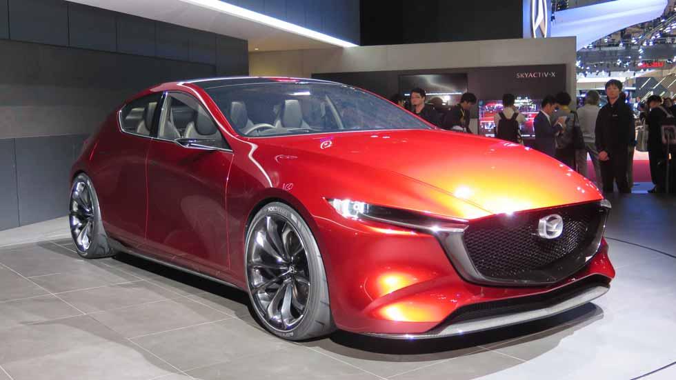 El futuro Mazda3 de 2019, con el revolucionario motor SkyActiv-X