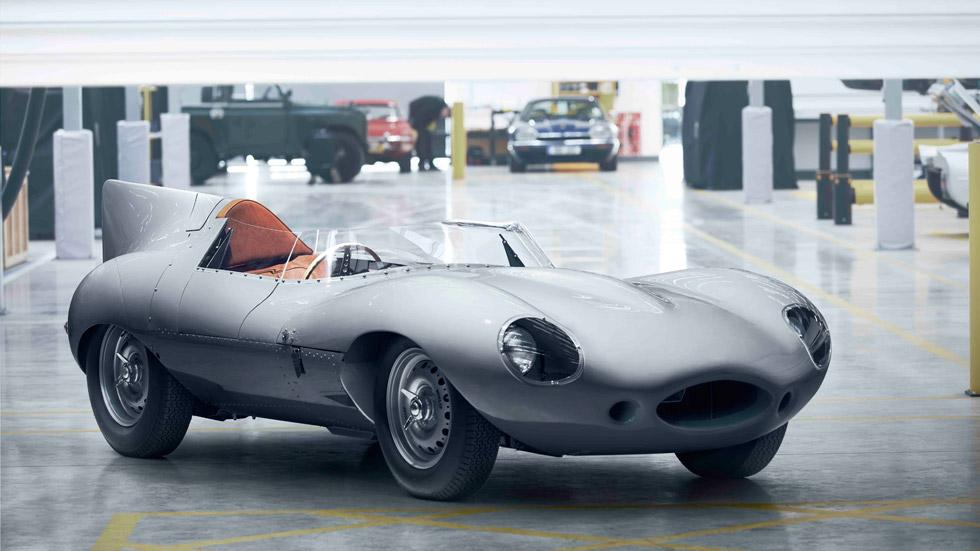 ¡Resucitado! Jaguar reanuda la producción del mítico D-Type