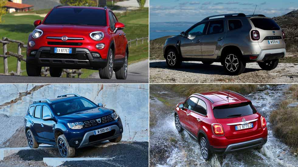 Fiat podría lanzar en 2019 un SUV rival del Dacia Duster