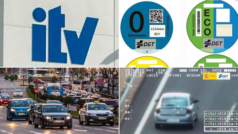 Todos los cambios de 2018 en tráfico, multas, ITV, norma de consumos WLTP…