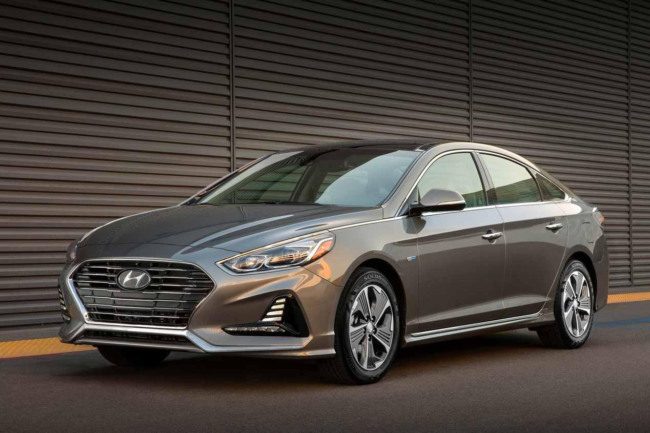 Hyundai Sonata Hybrid y Plug-in Hybrid 2018: todos los datos y fotos