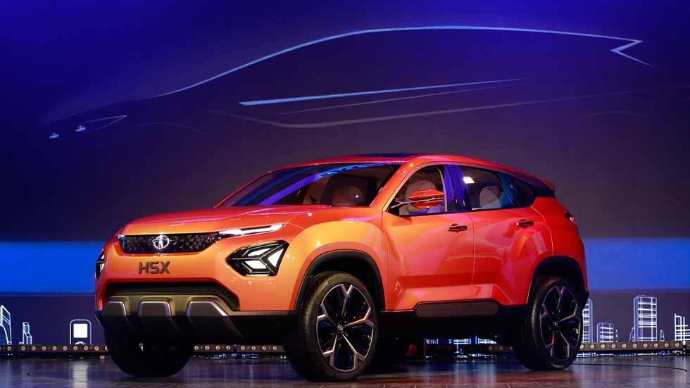 """Tata H5X Concept, el SUV """"barato"""" con genes de Jaguar-Land Rover (vídeo y fotos)"""