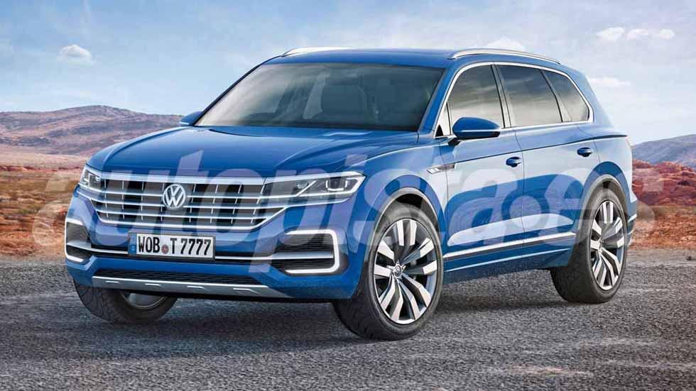 El VW Touareg 2018, aún más lujoso y moderno que el Arteon