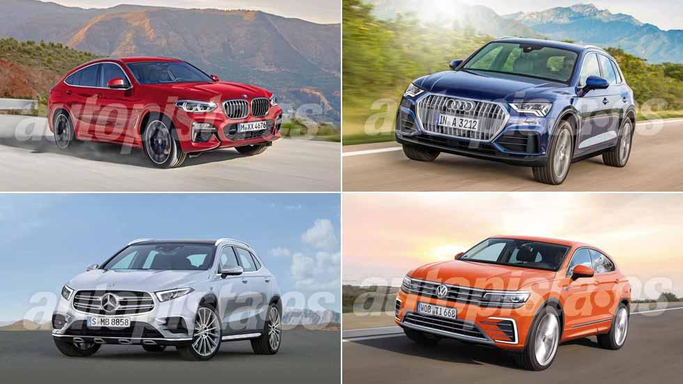 Revista Autopista 3042: así serán los nuevos Audi Q3, BMW X4, VW Tiguan Coupé…