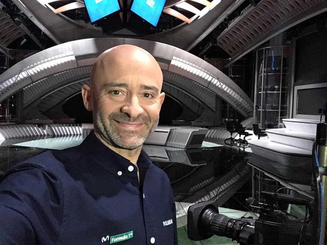 Antonio Lobato regresa a la F1 de la mano de Movistar+
