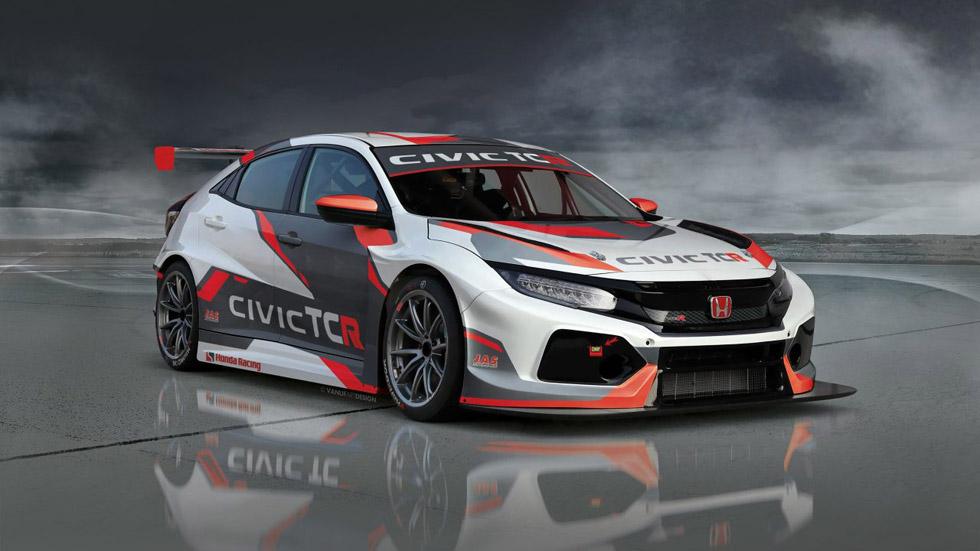 Honda Civic TCR: así es el Civic más deportivo y bestia del momento