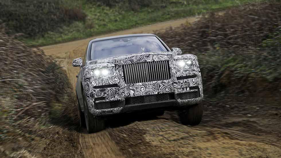 Rolls-Royce Cullinan: primeros datos y fotos del SUV más lujoso