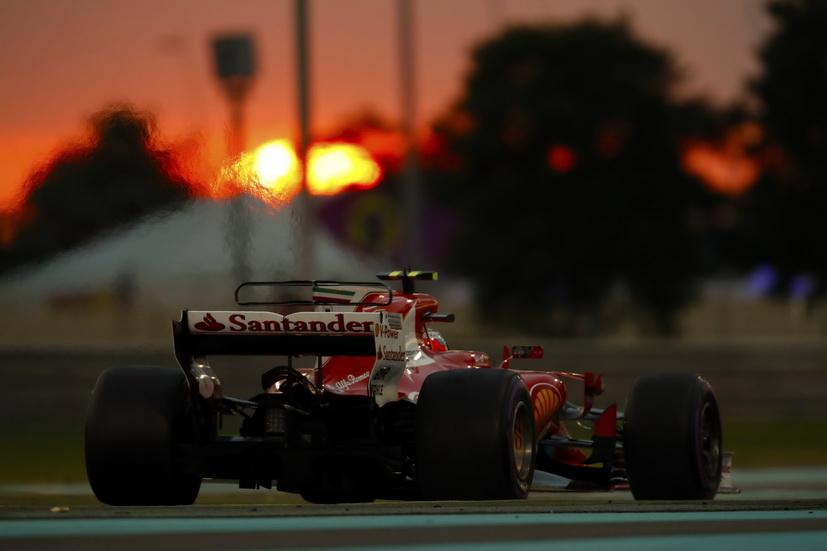 En el banco de pruebas el motor Ferrari durante 7 Grandes Premios