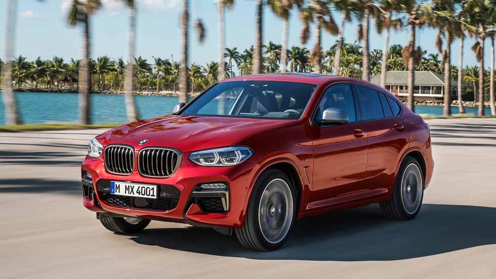 BMW X4 2018: todos los datos y fotos del nuevo SUV coupé