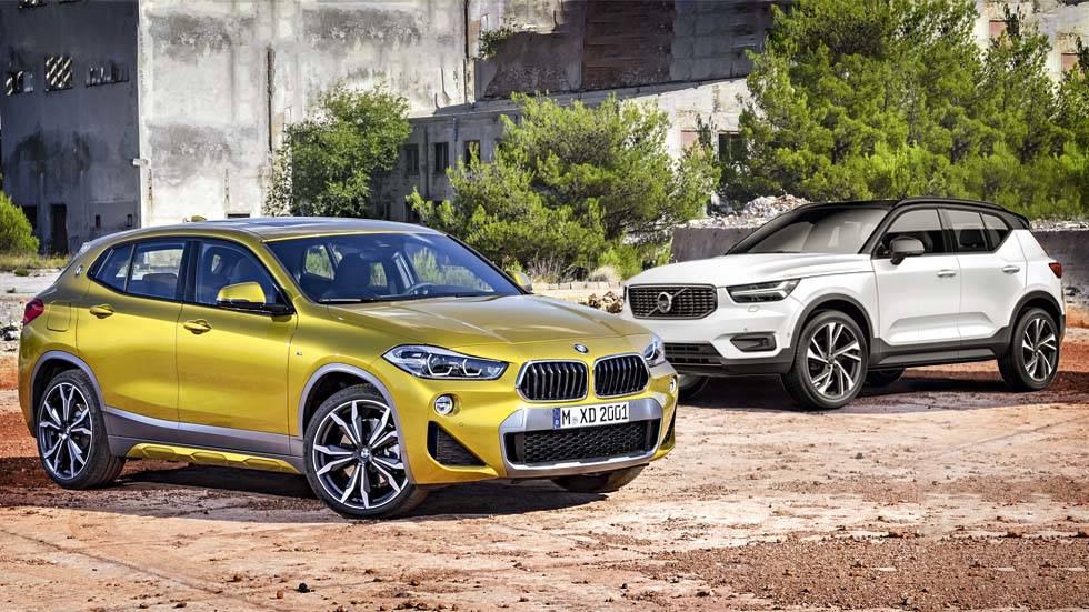 BMW X2 vs Volvo XC40: el nuevo gran duelo SUV que llega ya al mercado