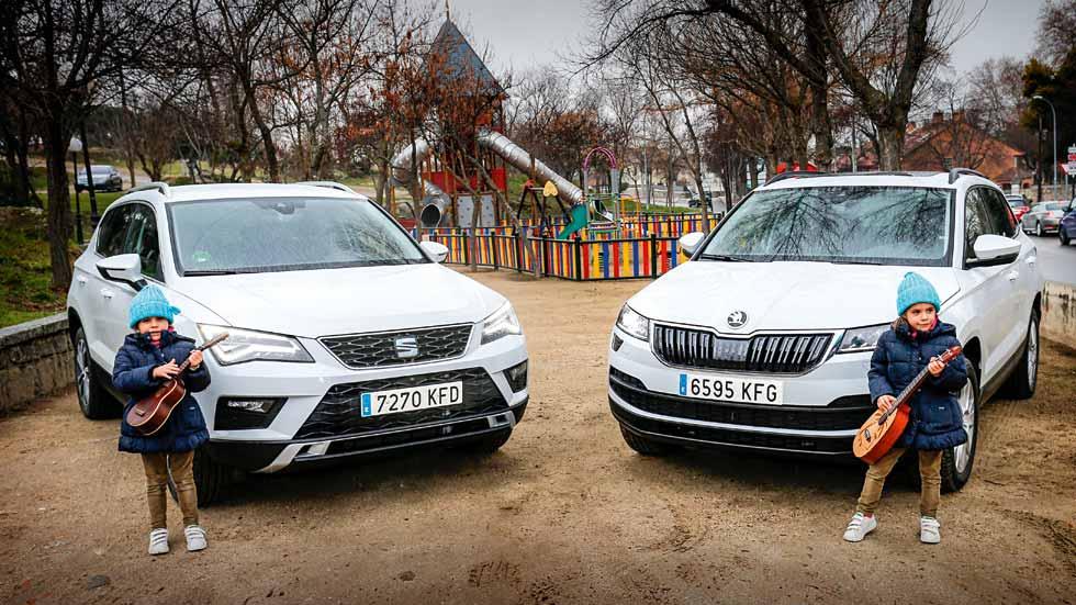 Comparativa SUV: Seat Ateca vs Skoda Karoq, ¿tan iguales, tan diferentes?