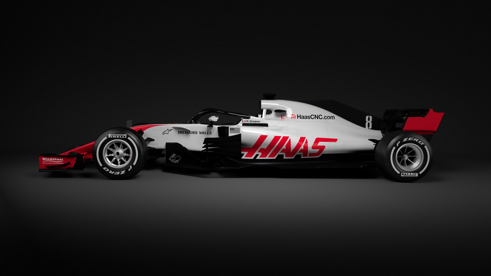 Haas presenta su monoplaza para 2018: el VF-18