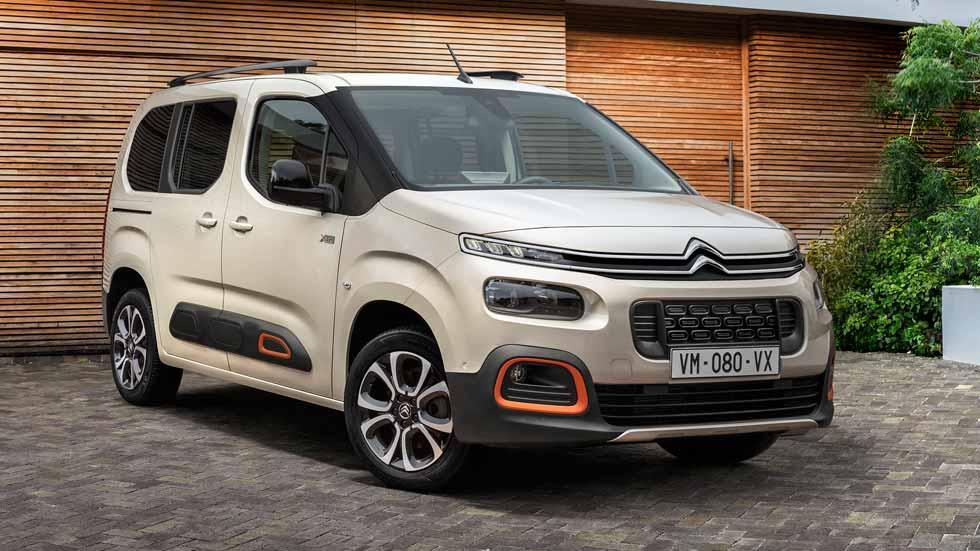 Citroën Berlingo 2018: con airbumps del C4 Cactus y genes del Peugeot 3008