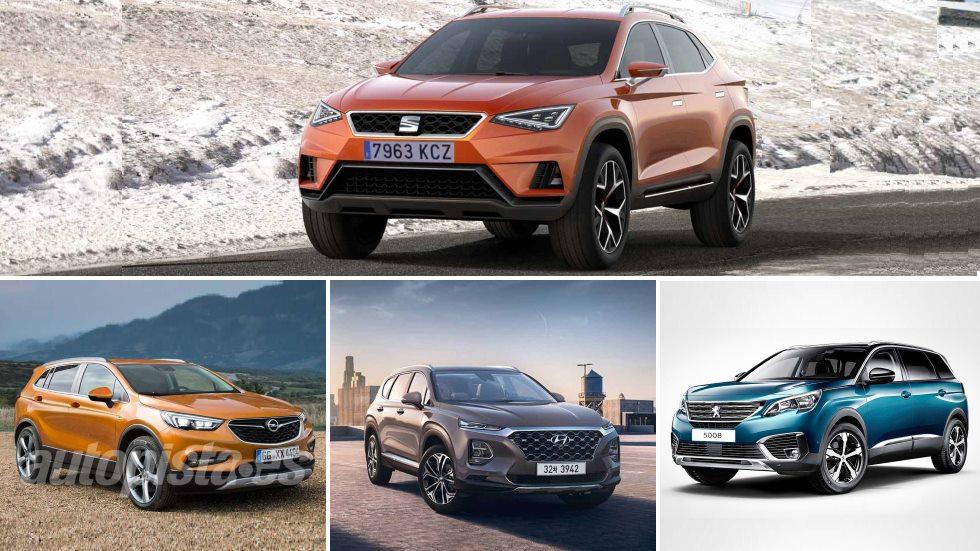 Seat Tarraco y sus futuros rivales SUV: 5008, Kodiaq, Santa Fe, Omega X…