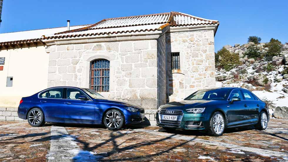 Audi A4 2.0 TFSI vs BMW 320i: buscamos la mejor berlina de gasolina