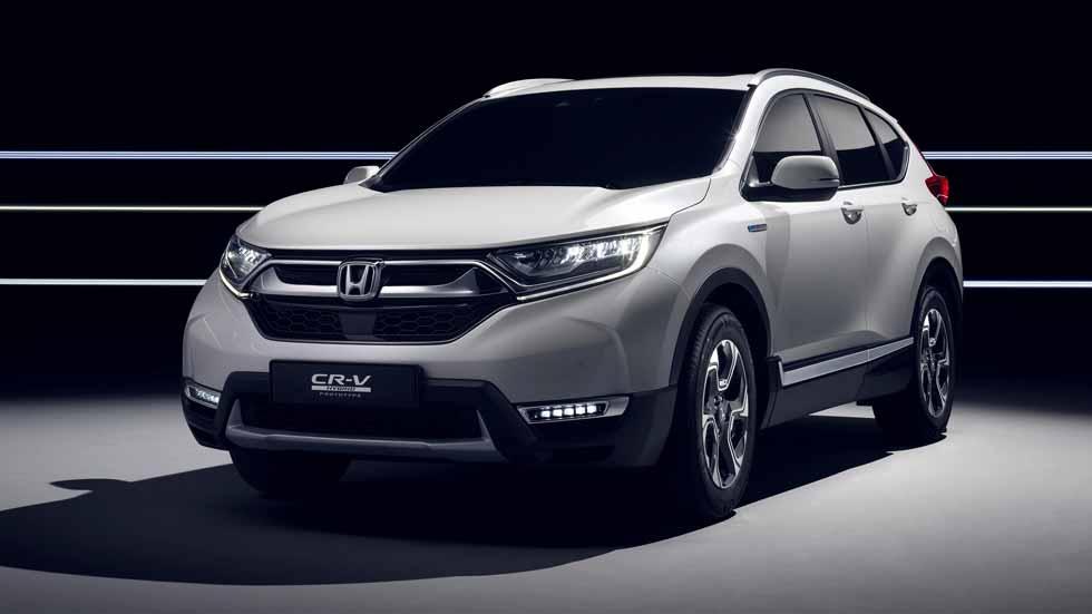 Los nuevos SUV de Honda: CR-V 2018 y Jazz X-Road