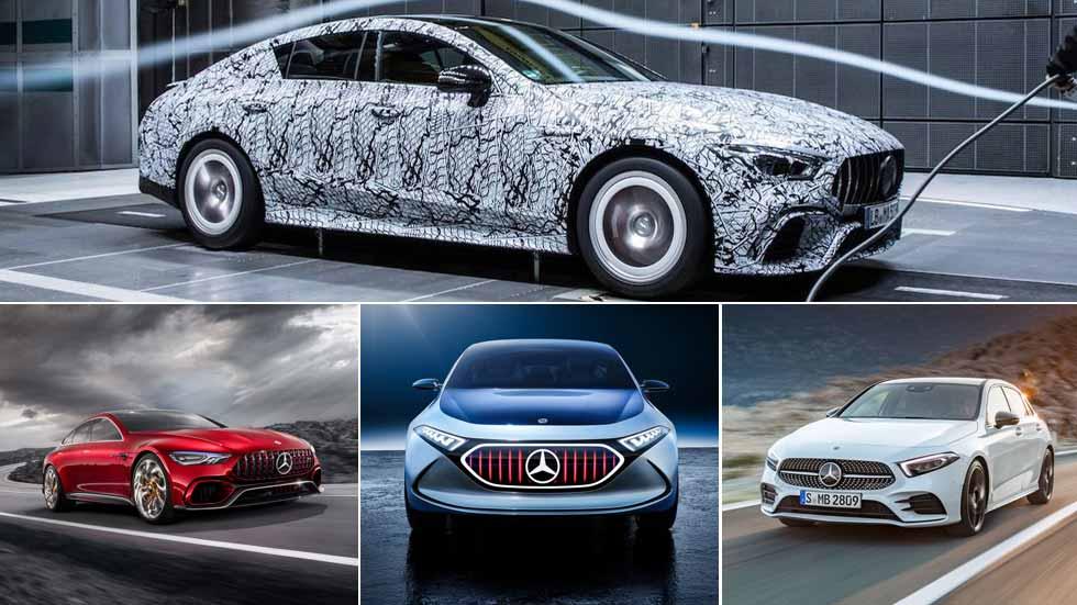 Mercedes en el Salón de Ginebra 2018: nuevos Clase A, EQ,  AMG GT Coupé…