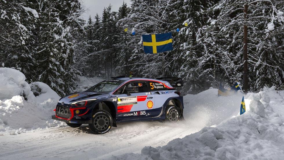 Rally de Suecia 2018: Neuville gana y se coloca líder del Mundial