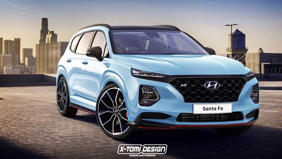 Hyundai Santa Fe 2018 N: ¿el gran SUV más deportivo?