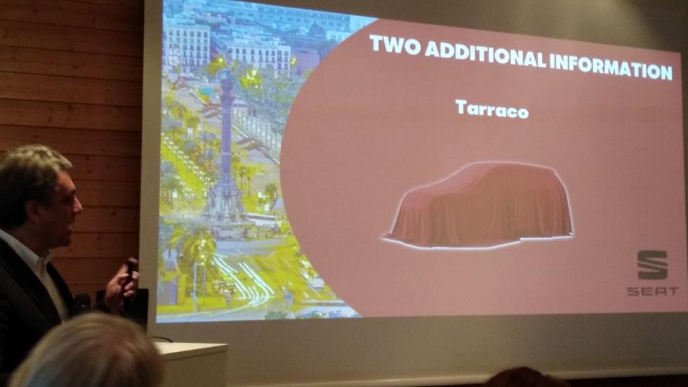 OFICIAL: Seat Tarraco, el nombre del nuevo gran SUV de Seat