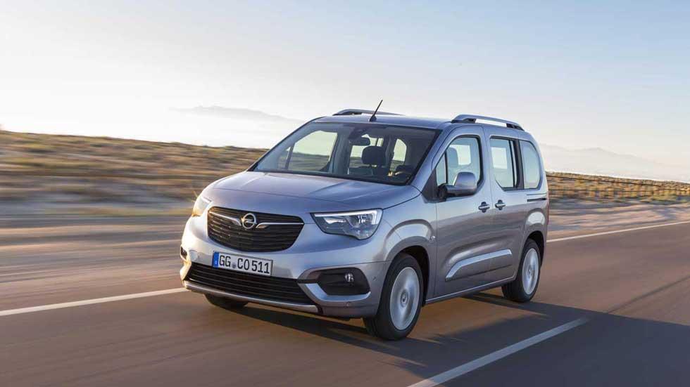 Opel Combo Life: nueva furgoneta familiar y muy práctica