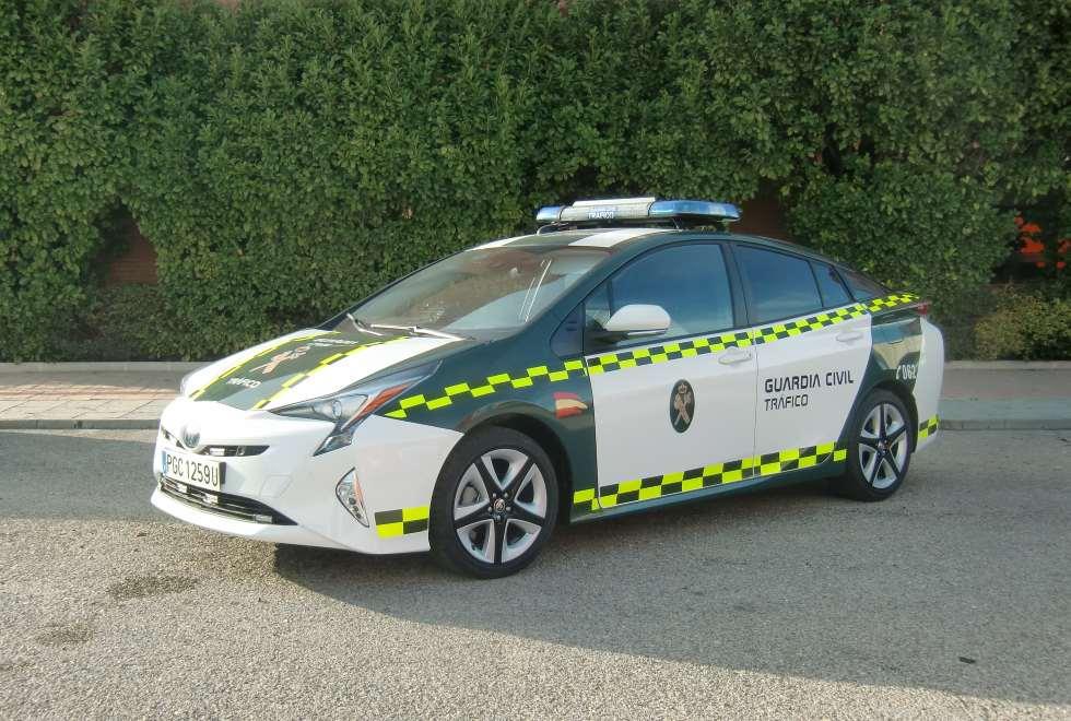 Los nuevos coches de la Guardia Civil de Tráfico