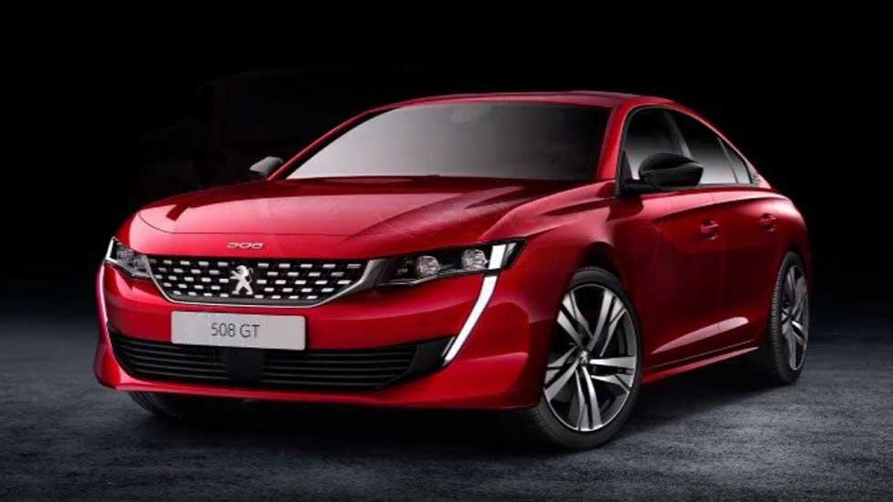 Peugeot 508: primeras fotos oficiales filtradas