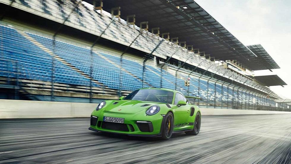Porsche 911 GT3 RS, casi de carreras
