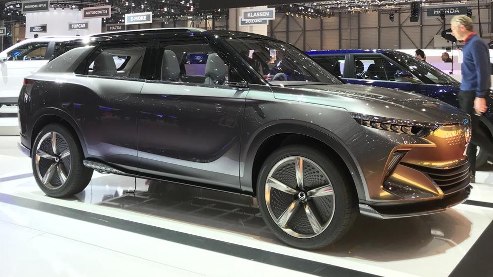 SsangYong e-SIV: el SUV eléctrico con 450 km de autonomía