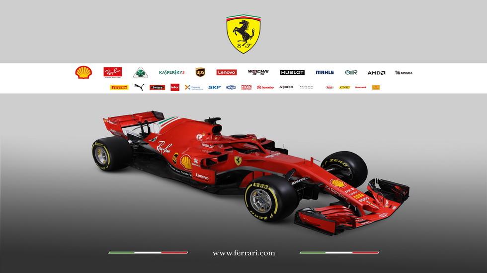 Así es el Ferrari SF17H