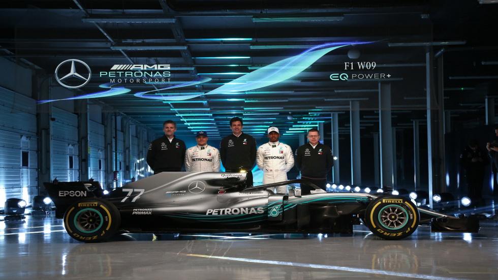 Mercedes presenta el W09 EQ Power+