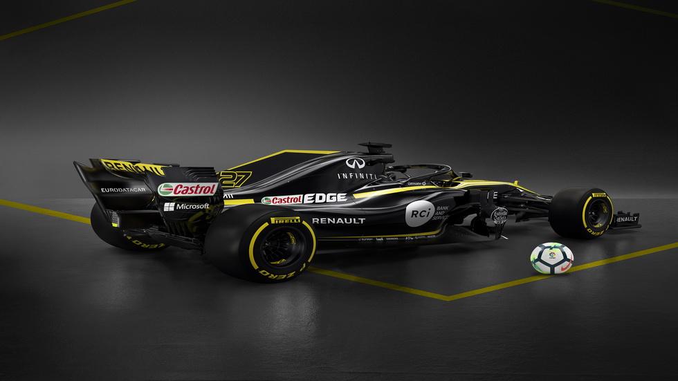 El equipo Renault de F1 y LaLiga anuncian su colaboración