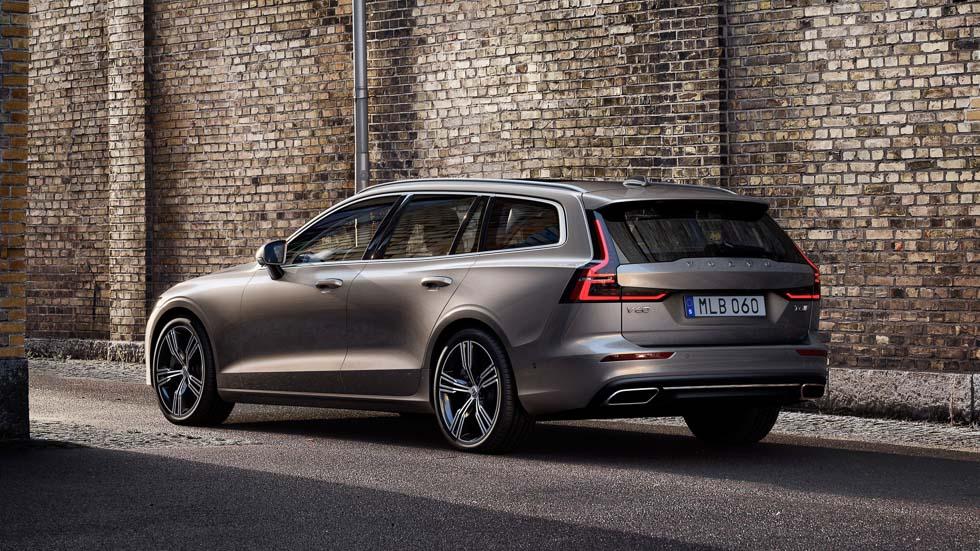 Volvo V60: así es la nueva berlina familiar de Volvo