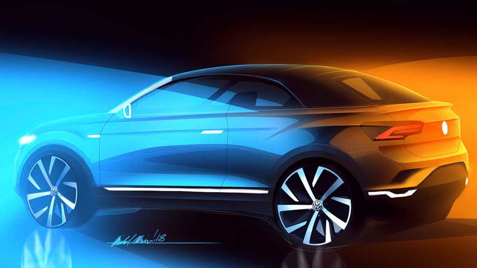 Volkswagen T-Roc Cabriolet: SUV descapotable para 2020