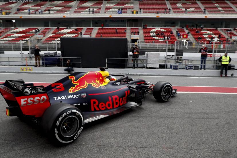 Test F1 Barcelona (lunes): Red Bull el más rápido