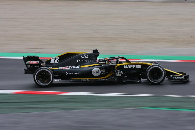 Test F1 Barcelona (lunes): a Sainz le perjudicó la lluvia y el frío