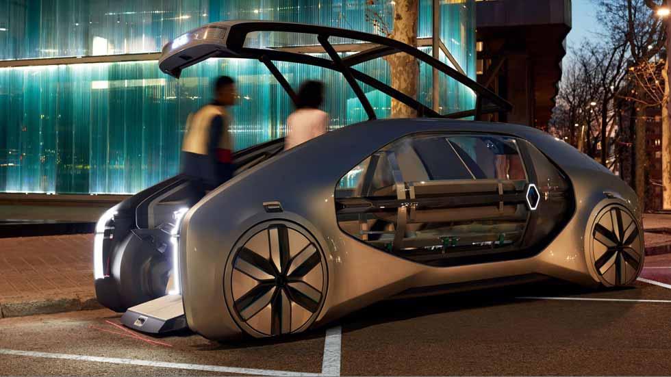 Renault EZ-GO, así es el coche urbano del futuro: compartido y autónomo