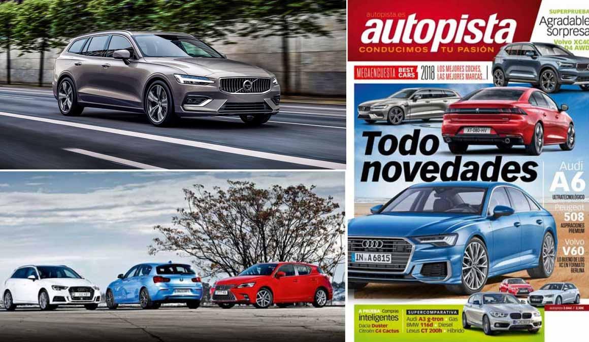 Revista Autopista nº3044, lo mejor de 2018: Peugeot 508, Dacia Duster, C4 Cactus...